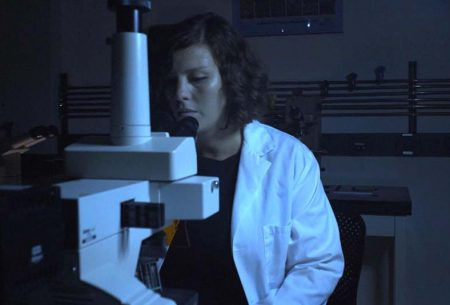 Dr. Zorlutuna in the Lab